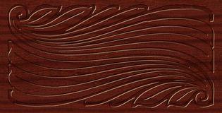 Высекаенный орнамент Стоковые Изображения