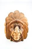 высеканная индийская древесина Стоковая Фотография RF