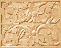 высеканная картина цветка Стоковая Фотография