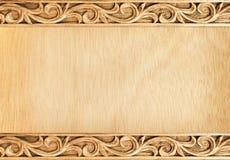 высеканная рамка цветка Стоковое Фото