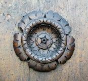 высеканная древесина картины цветка Стоковые Изображения RF