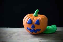 высеканная тыква halloween Стоковые Фото