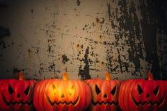 высеканная тыква halloween Стоковая Фотография RF