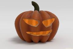 высеканная тыква halloween Стоковое Фото