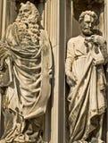 высеканные мраморные вероисповедные статуи 2 Стоковое Изображение