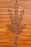 высекать древесину завода стоковое изображение