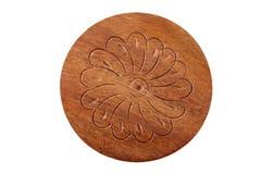 высекать древесину цветка Стоковое Фото