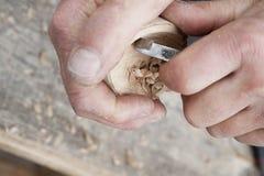 высекать древесину Стоковое фото RF