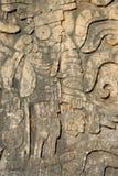 высекать майяский Стоковое Изображение
