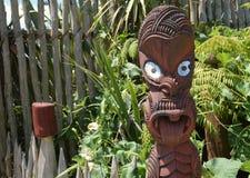 высекать маорийский Новая Зеландия Стоковые Изображения RF