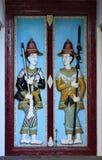 Высекать на двери стоковое фото rf