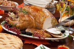 Высекать перец Турцию на благодарение стоковое фото rf