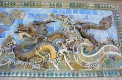 Высекать дракона стоковое фото rf