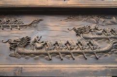 Высекать шлюпки дракона Стоковое Изображение RF