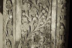 высекать древесину деталей старую Стоковая Фотография RF