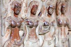 Высекать Angkor Wat Стоковое Изображение RF