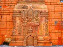 Высекать budha стены Стоковые Изображения