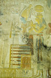 Высекать Isis и Osiris стародедовский, Abydos Стоковые Фотографии RF