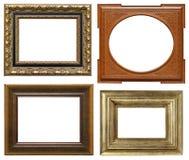 высекающ рамки деревянные Стоковая Фотография