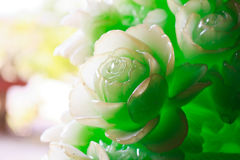 Высекая цветок Стоковые Изображения RF