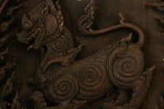 Высеките древесину handmade стоковое фото