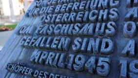 Высеките каменное Typograhy Стоковое Изображение