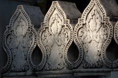 высеките стену shwedagon pagoda Стоковое Изображение RF