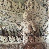 Высеките тайский гигантский бога Стоковые Изображения