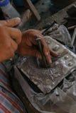 Высеките silverware, Чиангмай, Таиланд стоковые фотографии rf