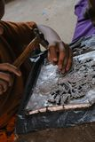 Высеките silverware, Чиангмай, Таиланд стоковые изображения rf