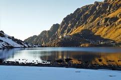 выселок Непала gosainkund Стоковое Изображение RF