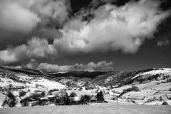 Выселок горы Стоковая Фотография