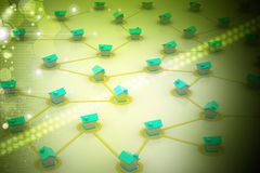 выселок сети символический Стоковое Изображение RF