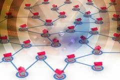 выселок сети символический Стоковые Фотографии RF