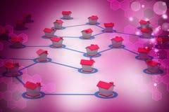 выселок сети символический Стоковые Изображения RF