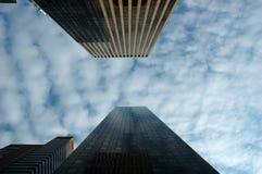 выскабливая небо Стоковые Фото