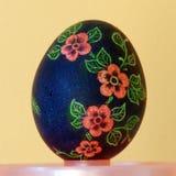 Выскобленное пасхальное яйцо Стоковое Фото