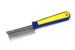 выслеживает hairbrush Стоковое Фото