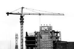 Высокая башня крана Стоковая Фотография