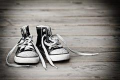 высокая верхняя часть ботинок Стоковые Фотографии RF