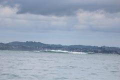 Высокая волна на спокойных морях Стоковые Фотографии RF