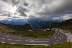 Высокая высокогорная дорога Стоковое фото RF
