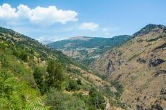 Высокая гора в Испании Стоковое Изображение