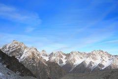 высокая гора ландшафта Стоковое фото RF