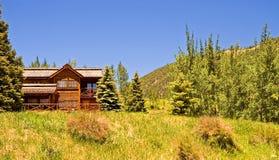 высокая гора lodge Стоковые Изображения RF