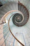 высокая лестница маяка Стоковая Фотография RF