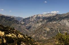 Высокая долина горы Сьерры Стоковое фото RF