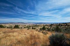 Высокая перспектива пустыни стоковая фотография