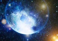 Высокая предпосылка поля звезды определения Звёздная текстура предпосылки космического пространства Красочная предпосылка космиче Стоковые Изображения RF