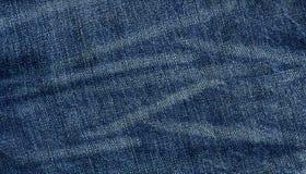 Текстура ткани джинсовой ткани Стоковые Изображения RF